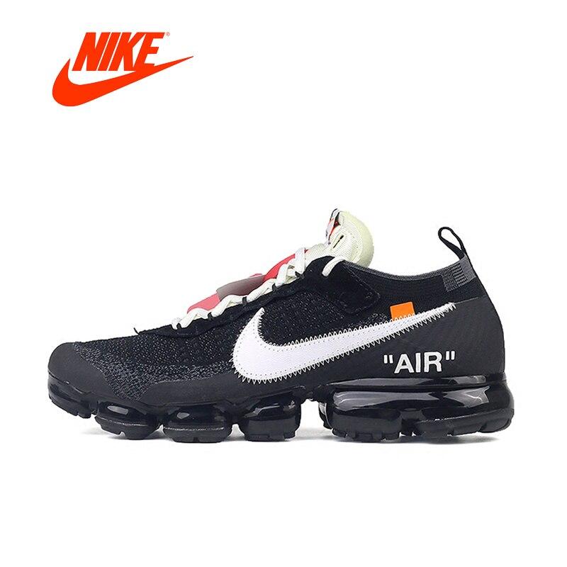 D'origine NIKE AIR MAX X Off BLANC VaporMax 2.0 Nouvelle Arrivée Authentique Respirant Hommes Chaussures de Course de Sport En Plein Air Sneakers