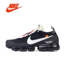 Оригинальный NIKE AIR MAX X Off WHITE VaporMax 2,0 Новое поступление Аутентичные дышащие для мужчин's кроссовки Спорт на открытом воздухе спортивная обувь