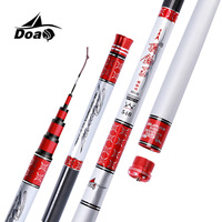 DOAO High Carbon Material SuperHard Fishing Rod 3 6 8 1M Telescopic Rod Sea Fishing Rod
