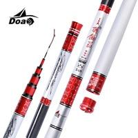 DOAO High Carbon Material SuperHard Fishing Rod 3 6 8 1M Telescopic Rod Sea Fishing Rod