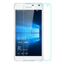 WolfRule 2PCS For Glass Microsoft Lumia 650 Screen Protector Tempered Glass For