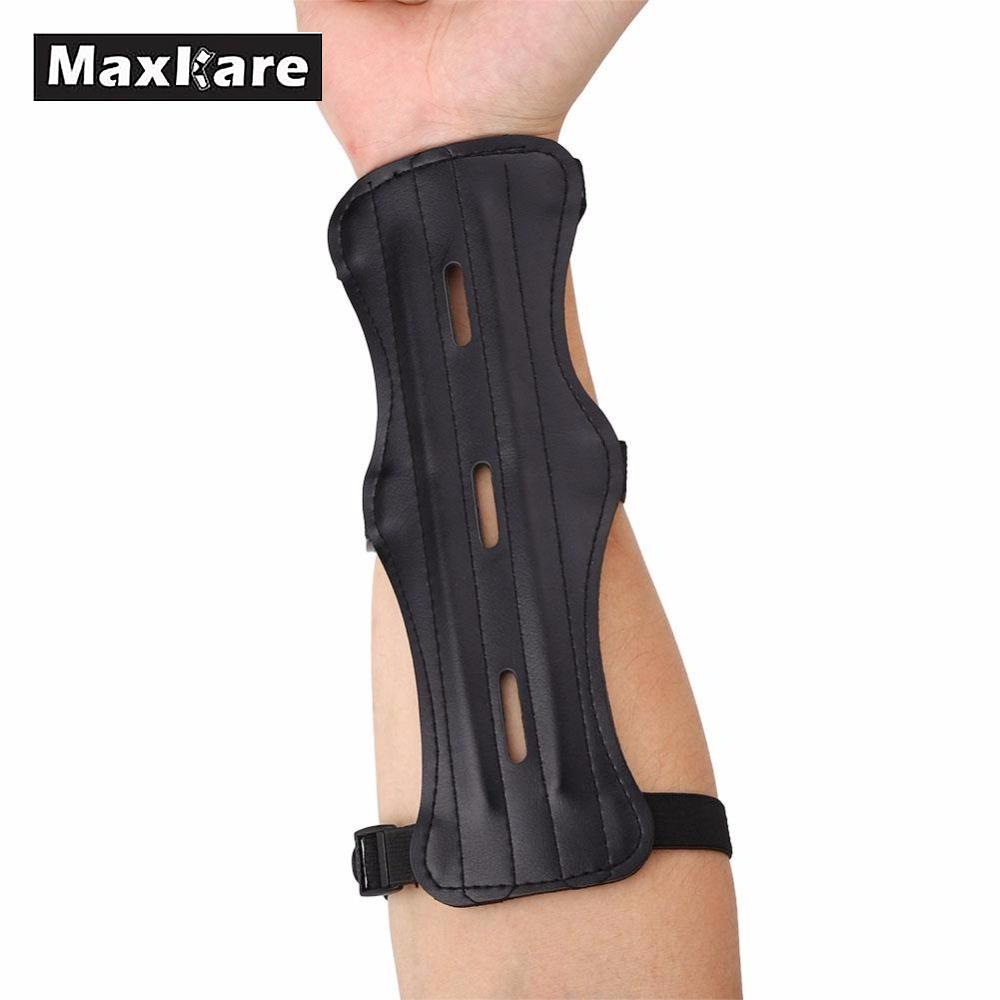 Sports & Entertainment Sports Safety Shooting Archery Strap Double-sided Arm Guard Protection Kids Adults Arm Support Brace Guard Sport Safety Arm Sleeve Warmer Pad
