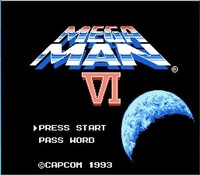 Mega Man 6 VI 72pins 8bit Game Card Drop Shipping