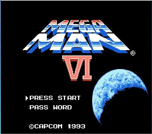 Mega Man 6 (Megaman VI) 72pins 8bit Game card Drop shipping!