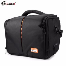 EIRMAI SS03 Handheld Camera Bag High-density Oxford Cloth Bag with Rain Cover for DSLR Lens Accessory For Canon Nikon Pentax