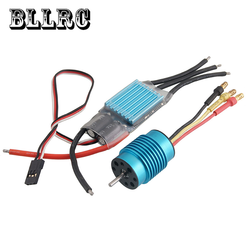 HSP RC Car 1:16 1/16 SKY30A brushless ESC 30A and 5300KV motor brushless motor 4set lot universal rc quadcopter part kit 1045 propeller 1pair hp 30a brushless esc a2212 1000kv outrunner brushless motor