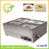 Restaurant Electric Bain Marie Buffet Food Warmer Container For Catering Food Warming Tray Hot Soup Bain