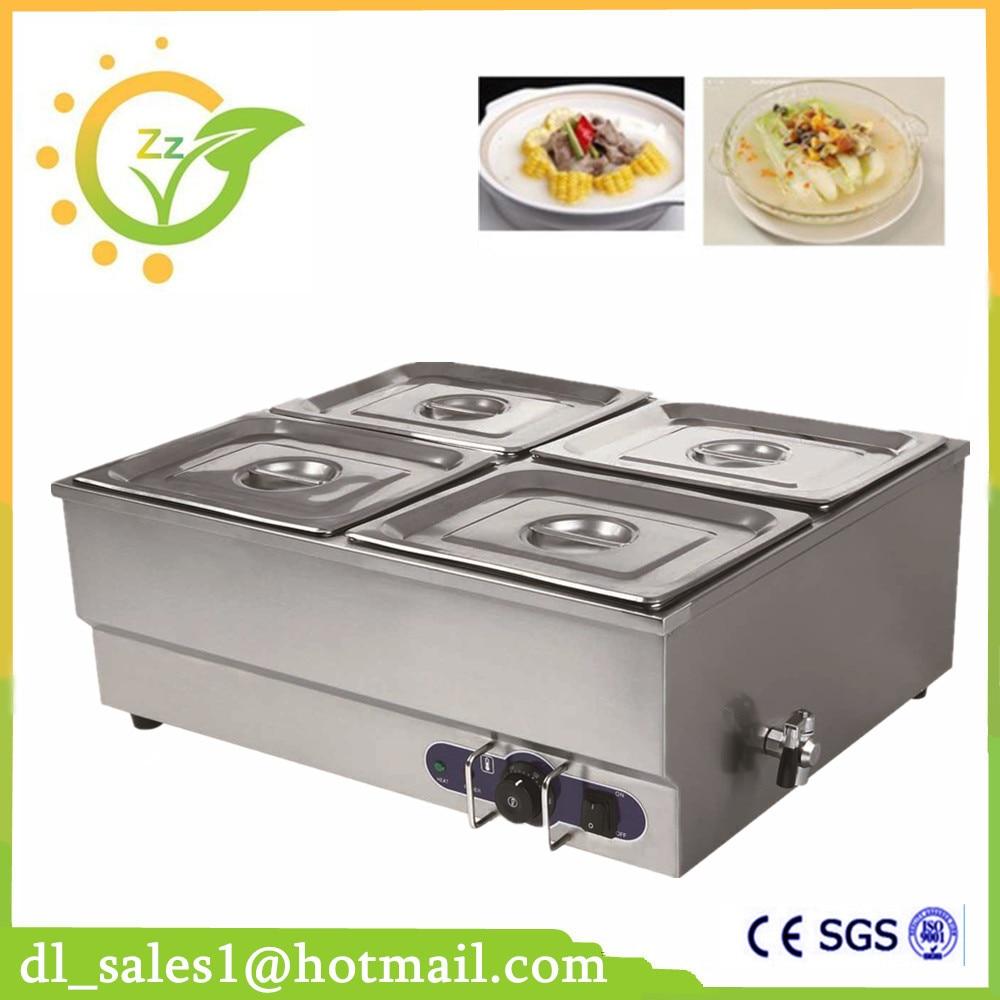 Restaurant Electric Bain Marie Buffet Food Warmer