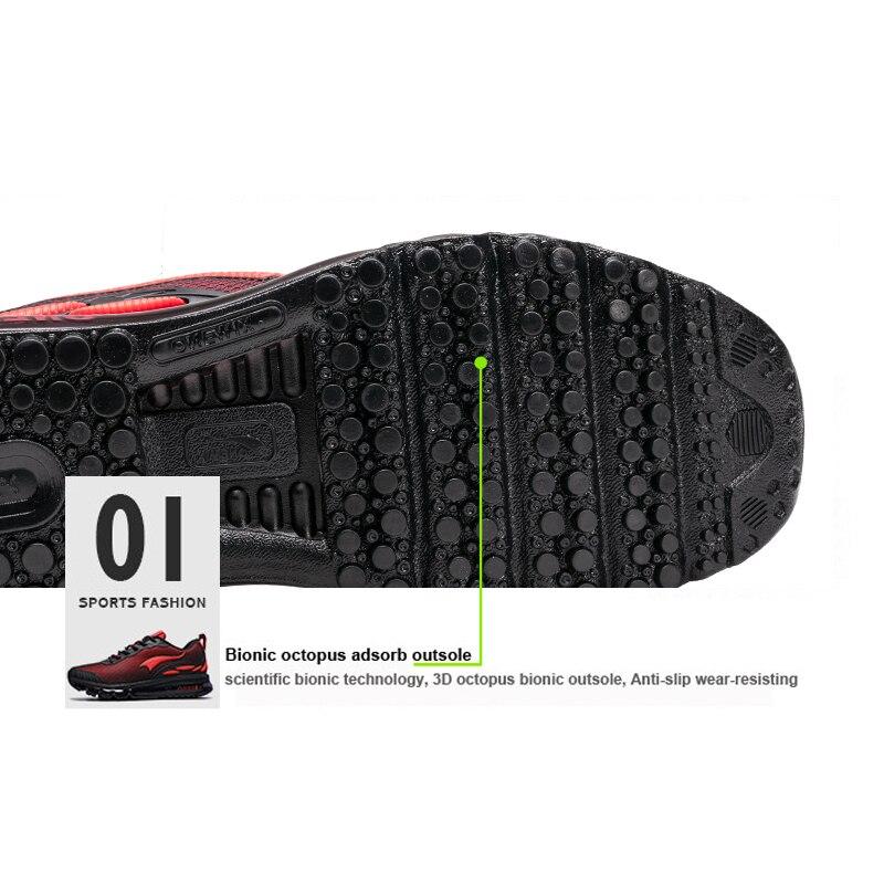 ONEMIX Breathable Mesh Women Sport Sneakers Chaussure Running Homme Men Jogging Shoes Comfortable Men Shoes Sales Size US 3.5-12