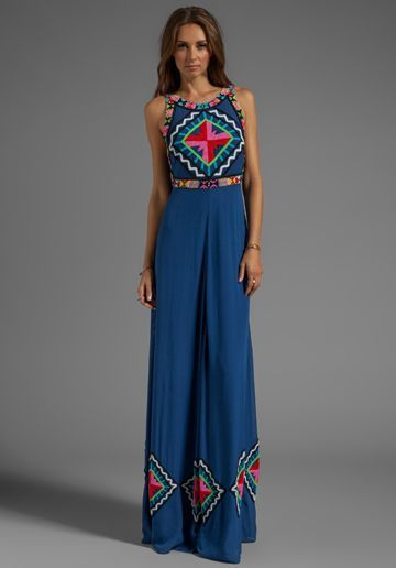 Fashion tank maxi dress