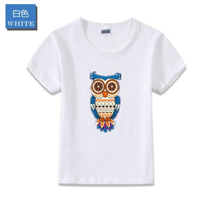 3e53fb3d60 Roupas Das Crianças do verão T-shirt Das Meninas de Algodão de Mangas  Curtas T