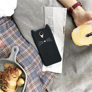 Image 5 - Silicon Telefoon Case Voor Meizu M6 M5S M5 M6S M3S M5C Leuke Kat Oor Cartoon Gevallen Voor Meizu M6 M5 note Gevallen Beschermhoes Bumper