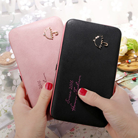 Phone Cases For Samsung Galaxy Note 3 4 5 Wallet Case Luxury Women Wallet Purse Universal