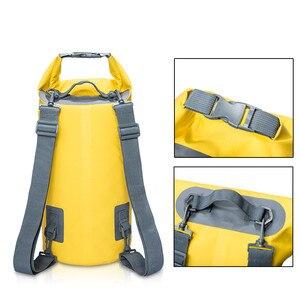 10L 20L Swimming Waterproof Bags Storage Dry Sack Bag For Canoe Kayak Rafting Outdoor Sport Bags Travel Kit Equipment