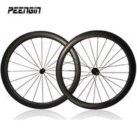 carbon dimple wheels road bike 45mm clincher tubular 303 50mm 404 moonscape bike 58mm 505 golf suface 80mm 808 R13 hub wheelset