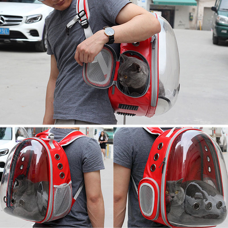 Pet Bag Dog Backpack Cat Shoulder Backpack Pet Travel Cave Outside Portable Bag Pet Products For Kitty Puppy And Small Dog #5