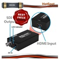 Extender Mini HDMI to SDI Converter Adapter 3G HD SDI For driving HDMI Monitors With Power adapter EU US UK Plug