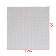 Mayitr 1pc 304 Stainless Steel Woven Wire Mesh Filtration #60 Cloth Screen Filter 30x30cm
