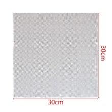 Mayitr malla de alambre tejido de acero inoxidable, filtración, tela, filtro de pantalla, 30x30cm, 304, 1 ud.