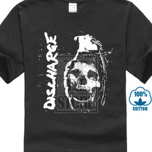 Décharge crâne S M L Xl Xxl t-shirt officiel groupe Punk t-shirt nouveau(China)