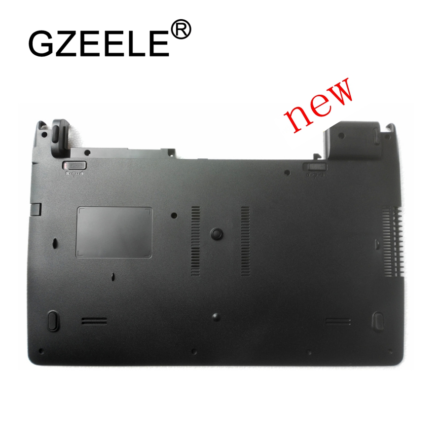 GZEELE New laptop bottom case base cover for ASUS X501A X501U lower case  D cover new for dell alienware 13 m13x bottom base cover case 0cr1w9 ap1fu000310