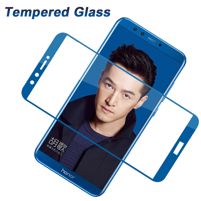 Protective film for huawei honor 9 lite hono9 full cover screen tempered glass for huawei hono 9 9lite light 9H Protector Film