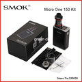 Original Smok Micro Uno 150 Kit con R150 TC Mod y 4 ml Minos Sub Tanque Smoktech Mod SS R150 Ni200 Alambre De Ti apoyo