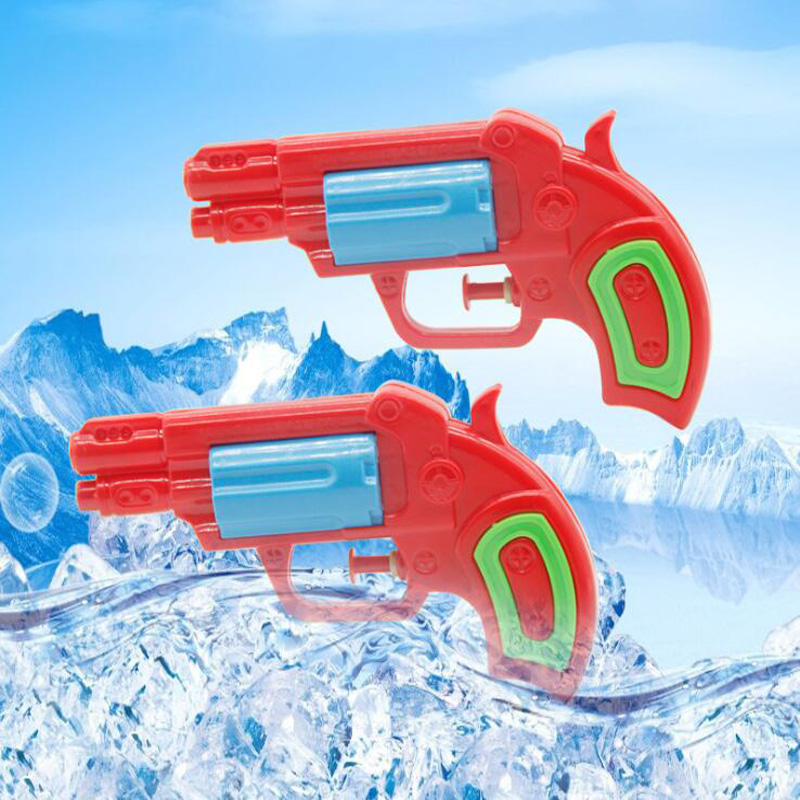 Children's Mini Red Small Water Gun Toy Gun Summer Drifting Water Outdoor Interactive Toy Water Gun Children's Collection