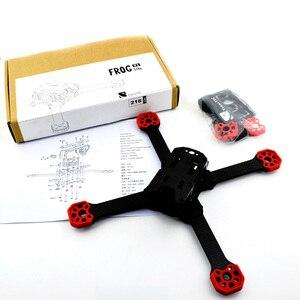 Image 5 - TransTEC Rana V2 Lite telaio 218 millimetri Separato Del Braccio di Supporto 3 S 4 S 20A 30A ESC F3 Naza 32 CC3D 2207 2306 Motore RC FPV Da Corsa drone