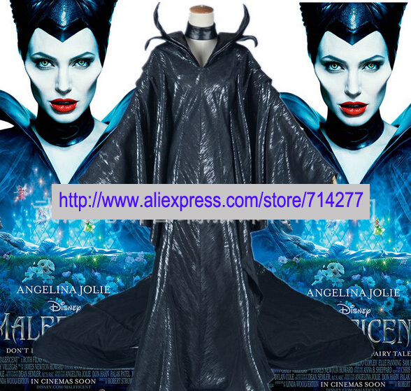 Disfraces Reales envío gratis Custom Custom Maleficent Bautizo - Disfraces