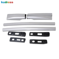 For Honda HR V HRV 2014 2019 Aluminum alloy Luggage Roof Rack Trim Cover Sticker Car Styling auto accessories