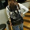 Bailar Women Backpacks waterproof for teenage girls string PU Leather vintage Mochila Escolar school Travel Bags Fashion tj005