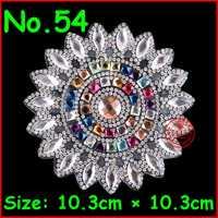 1 pc Flor Patches Hot fix Rhinestone Iron on Motif Applique Patch Para Crianças Vestido de Casamento Das Mulheres de Cristal Acessórios de Vestuário