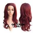 Акции 4 цвета черный повязка на голову половину парик 3/4 парик для женщин волнистые синтетический парик волос площадку парики peluca плутон