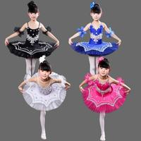 44b93b3474 Girls Ballet Dancing Dress White Swan Lake Costume Kids Ballerina Dress  Gymnastic Leotard Ballet Dress Children