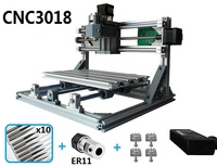 CNC3018 withER11,diy mini cnc engraving machine,laser engraving,Pcb PVC Milling Machine,wood router,cnc 3018