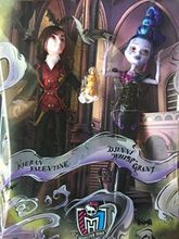 Original Monstr High Kieran Valentine & Djinni Whisp Grant Sdcc Dolls For Girls Birthday Gifts Genuine Brand Monstr Inc Toys