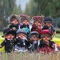 Kawaii Cute new new style monchhichi plush dolls 20cm monkiki monchichi dress up toys monkey doll for children