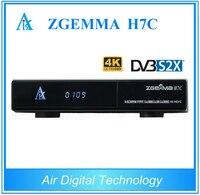 2 adet/grup 4 K Ultra HD Zgemma H7C kablo tv alıcı combo DVB-S2X + 2 * DVB-T2/C 4 k uydu alıcısı Linux Enigma2