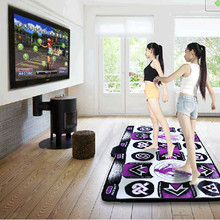 Хит новинка KL английское меню 11 мм толщина двойной танцевальный коврик Нескользящая подстилка на коврик для йоги для ПК и ТВ