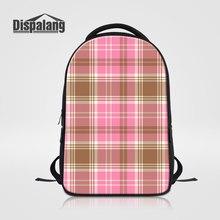 Dispalang Детская школа книга сумки для подростков модная одежда для девочек рюкзак для ноутбука плед Mochilas Эсколар женские туристические рюкзаки