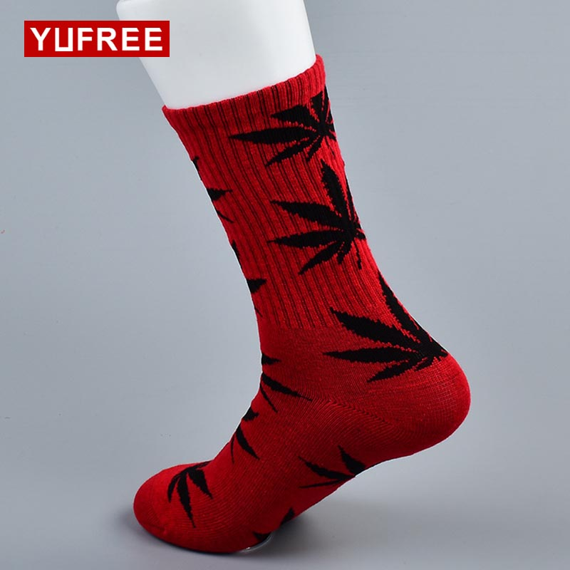 Fast Deliver Peonfly Combed Cotton Men Socks Colorful Jacquard Crew Happy Socks Monstera Leaf/dinosaur Eggs Funny Socks Men's Socks