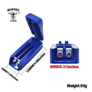 Image 2 - Máquina de rolamento manual do injetor 8mm do rolamento do tubo dobro do cigarro do cigarro plástico de hornet para cigarros de rolamento