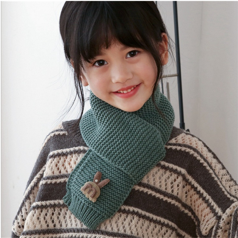 CHIC-CHIC Kids Baby Boys Girls Knitted Winter Warm Neck Warmer Snood Collar Scarf