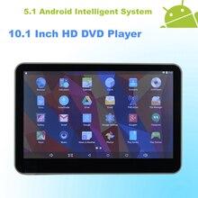 Android 5.1 reposacabezas 10.1 pulgadas Monitor del coche de HD DVD HDMI WIFI pantalla táctil capacitiva Quad Core ( 4 núcleos ) – 1 unids ( Gray )