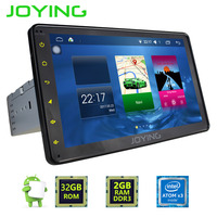 JOYING 1DIN Car audio Player autoradio GPS Navigation Android 6.0 car stereo 8inch HD Touch Screen support DAB+ DVR OBD2 camera