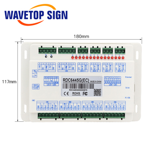 Image 3 - Ruida RDC6445 RDC6445G Laser Machine Controller Voor Co2 Lasergravure Snijmachine Upgrade RDC6442 RDC6442G