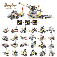 Joyyifor 12 in 1 Army Tank Building Blocks Bricks Military Vehicles Compatible LegoINGlys Weapons Brinquedo Toys For kids