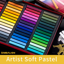 12/24/36/48/60 Colors Professional Soft Pastel Sticks Drawing Set Color Chalk Powder Hand Painted Crayons Brush Painting