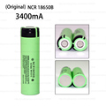 1PCS Original NCR18650B 3.7V 3400mah 18650 rechargeable lithium battery for Panasonic